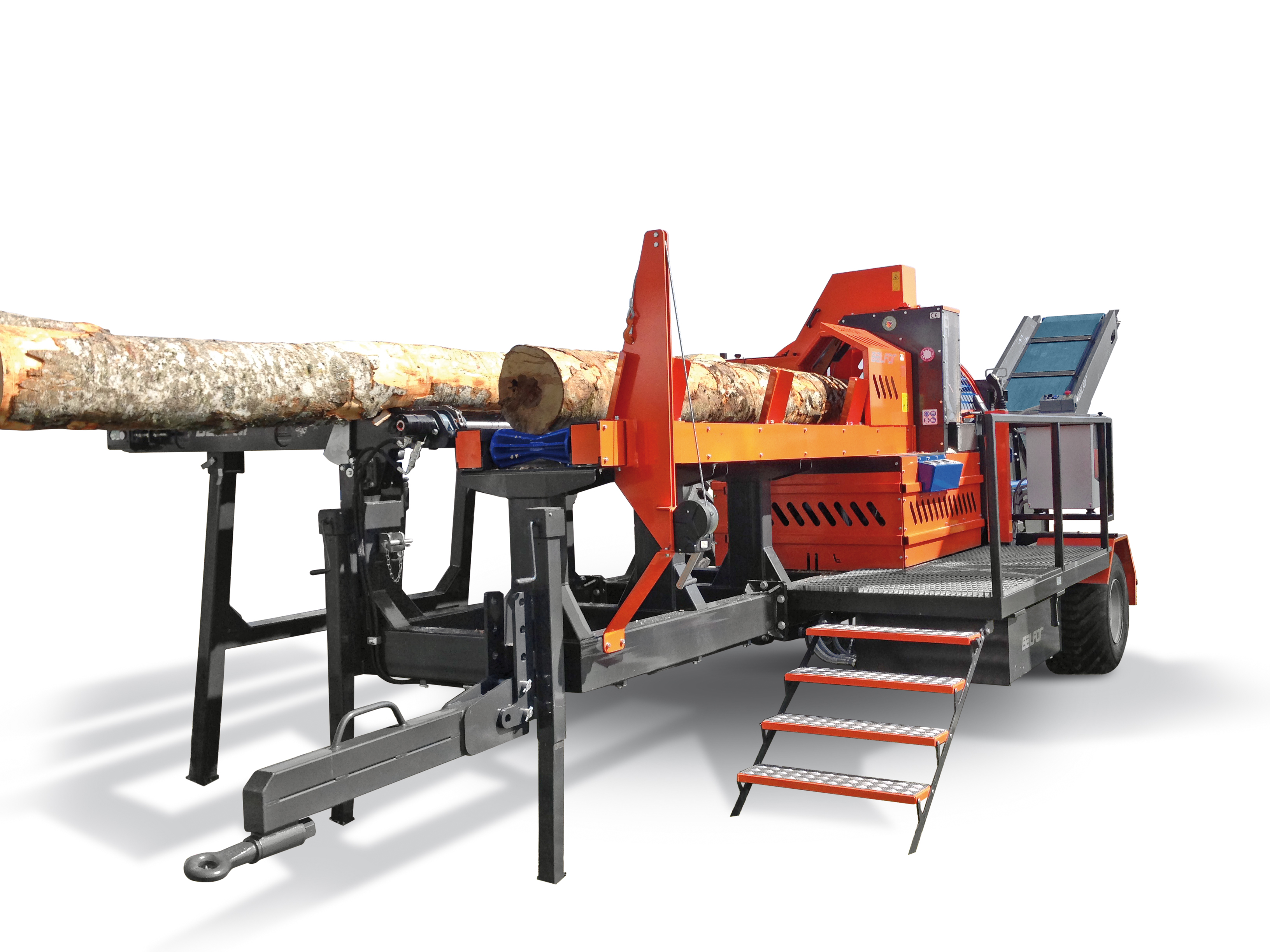 Balfor Continental 600 Firewood Processor
